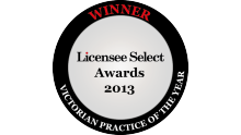 Licensee Select Award 2013